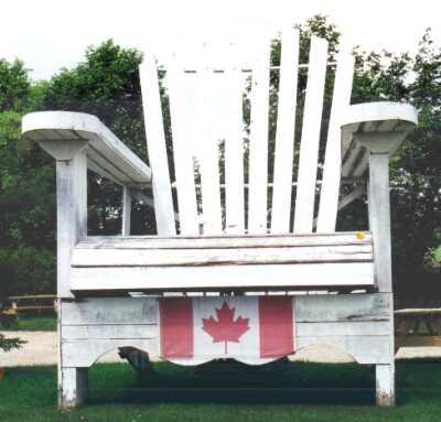 giant muskoka chair of varney